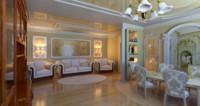 3d interior eclectic