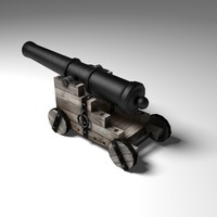 Cannon Low Poly