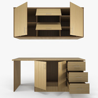 Cabinet Set (Kitchen Model 001)