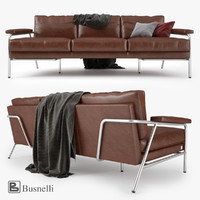 3d model busnelli carpe diem sofa