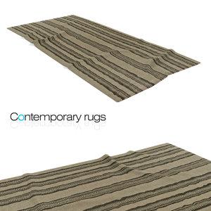 3ds max flat wave carpet