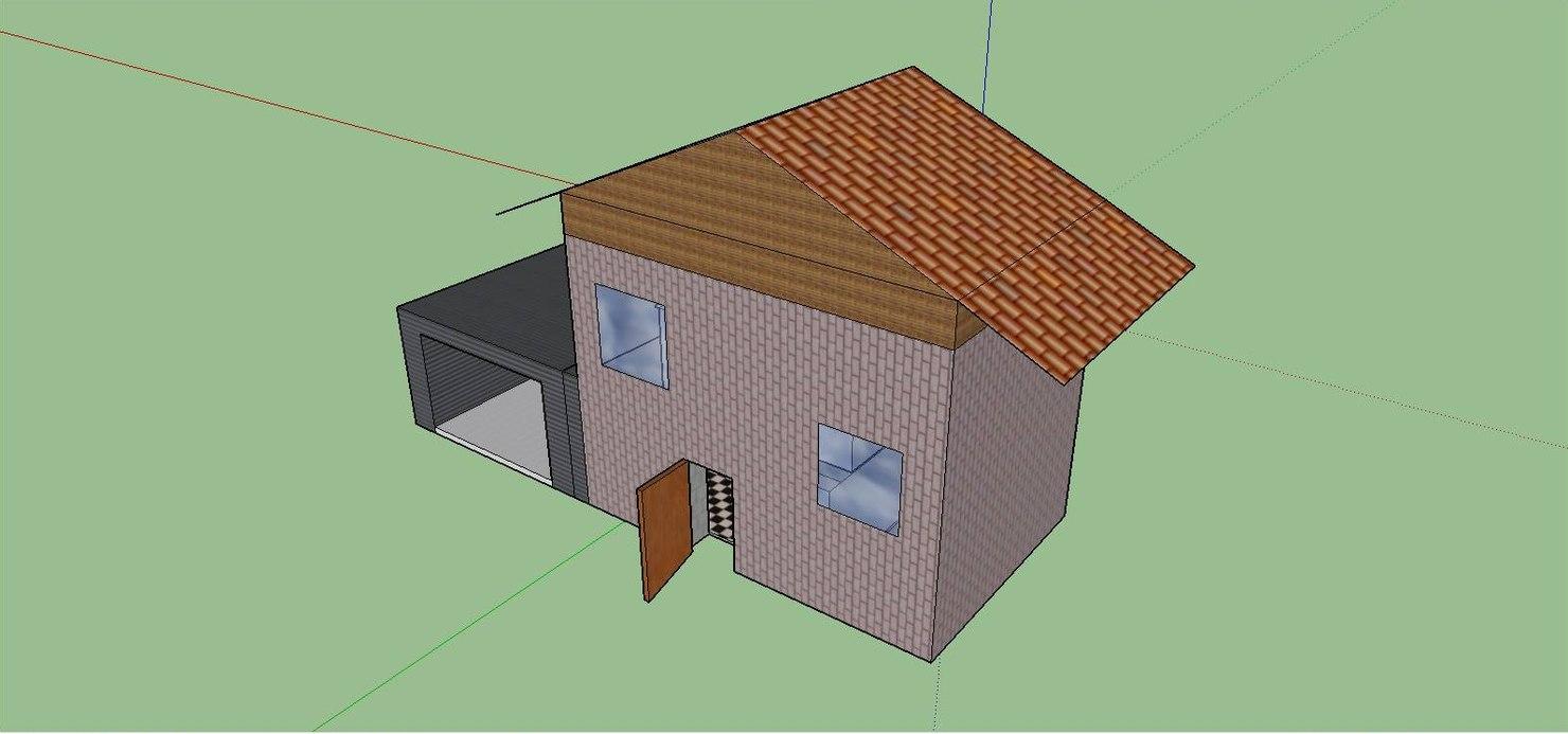 house enterable 3d model