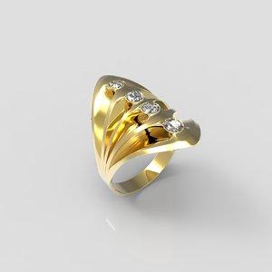 max gold ring