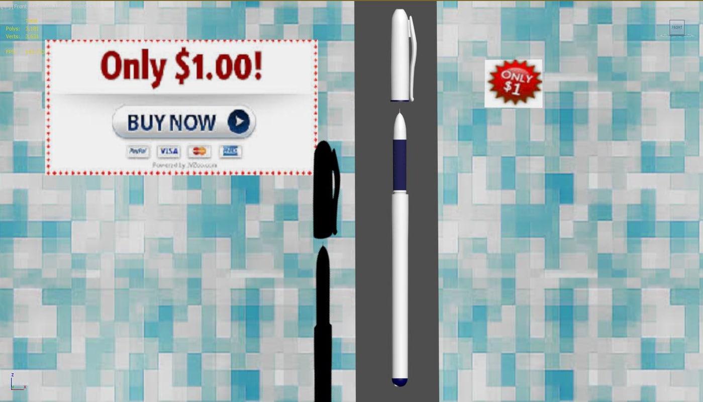 best pens 3d max