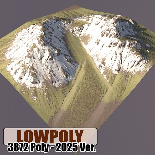 mountain maps terrain obj