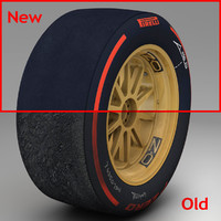 3d pirelli tyre 18 inches model