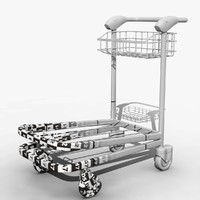 Airport Trolley Model