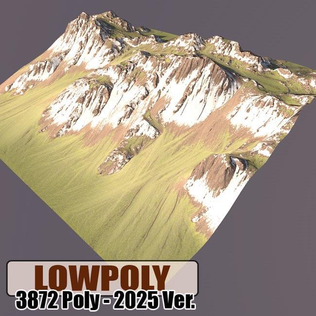 mountain maps terrain 3d 3ds