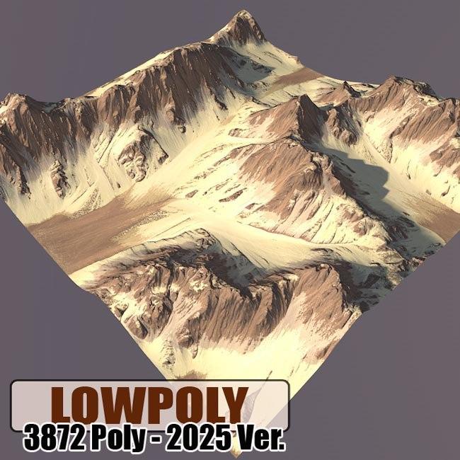 maya mountain maps terrain