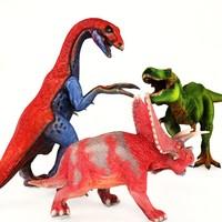 t-rex therizinosaurus pentaceratops 3d max