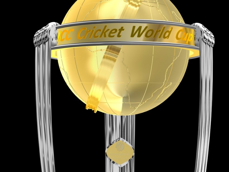 icc trophy 3d model