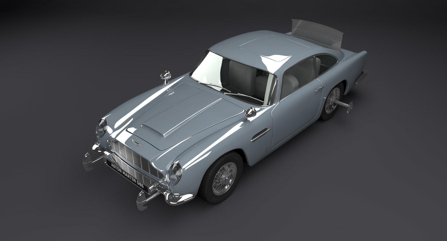 aston martin 3d model