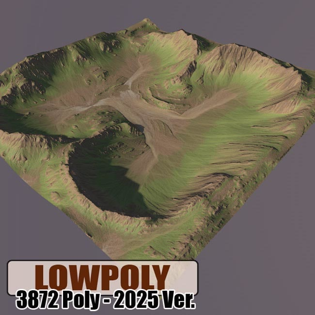 3d c4d mountain maps terrain