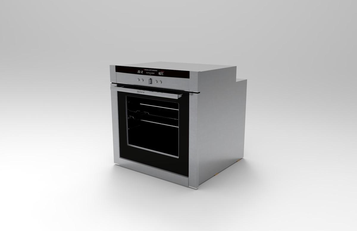 neff oven 3d model