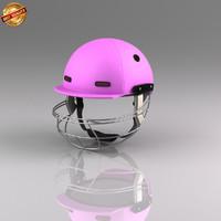 obj cricket batsman helmet