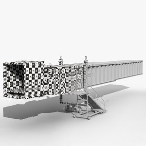 x airport jetway modeled