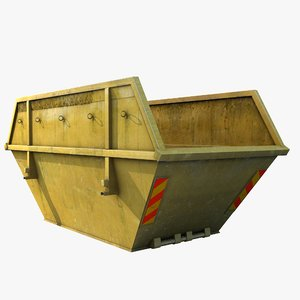max skip dumpster container