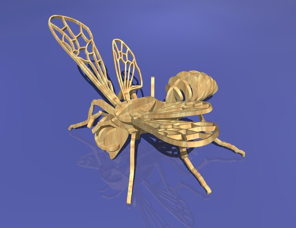 wooden wasp puzzle max
