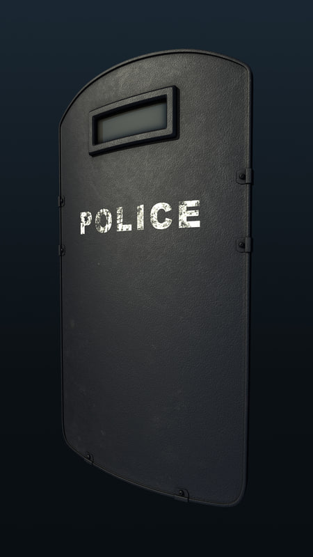 3d riot ballistic shield