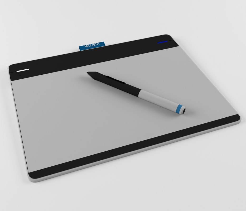 3d wacom intuos pen model