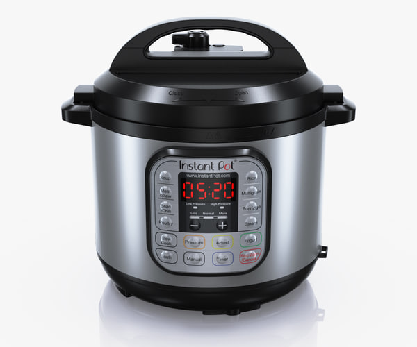 3d model instant pot ip duo60