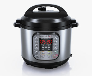 3d model instant pot ip duo60