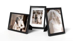 3d model of generic frames photo