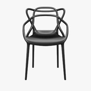 masters chair philippe starck 3d 3ds