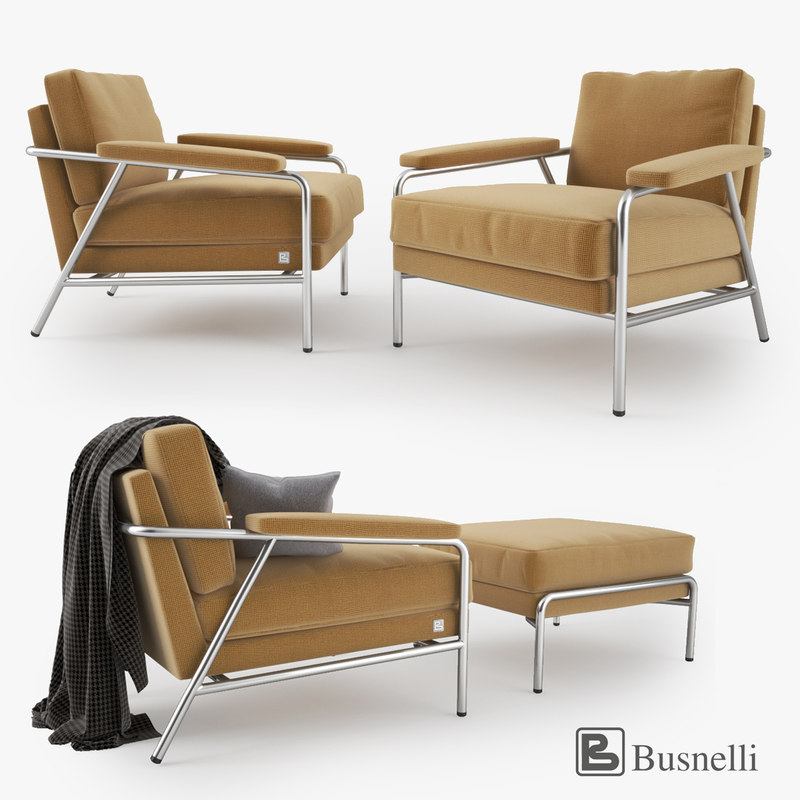 busnelli carpe diem armchair 3d max