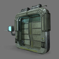 sci fi door 3