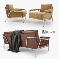 3d busnelli carpe diem sofa armchair