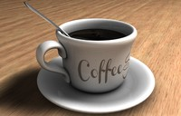 c4d coffee cup