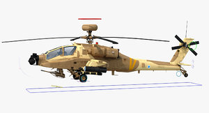 max ah64e apache longbow helicopter