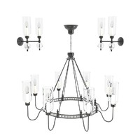 3d 3ds chandelier elegant