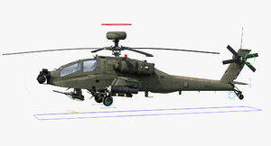 ah64e apache longbow helicopter max
