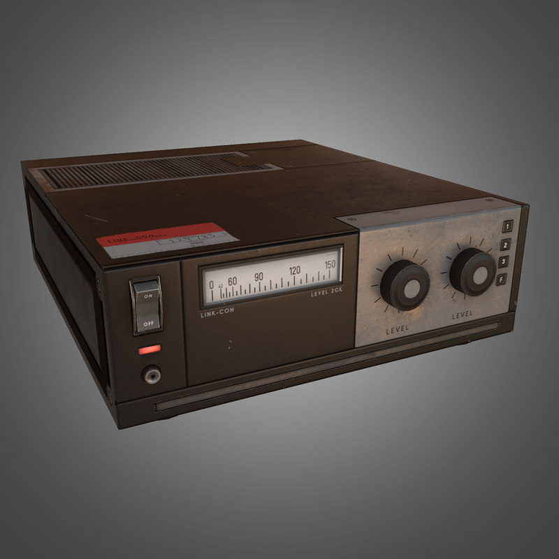 electronic ready 3d model