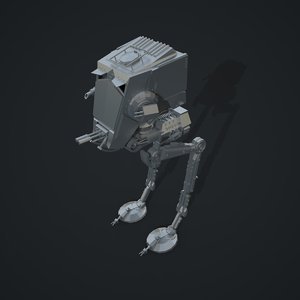 star wars at-st walker 3d 3ds