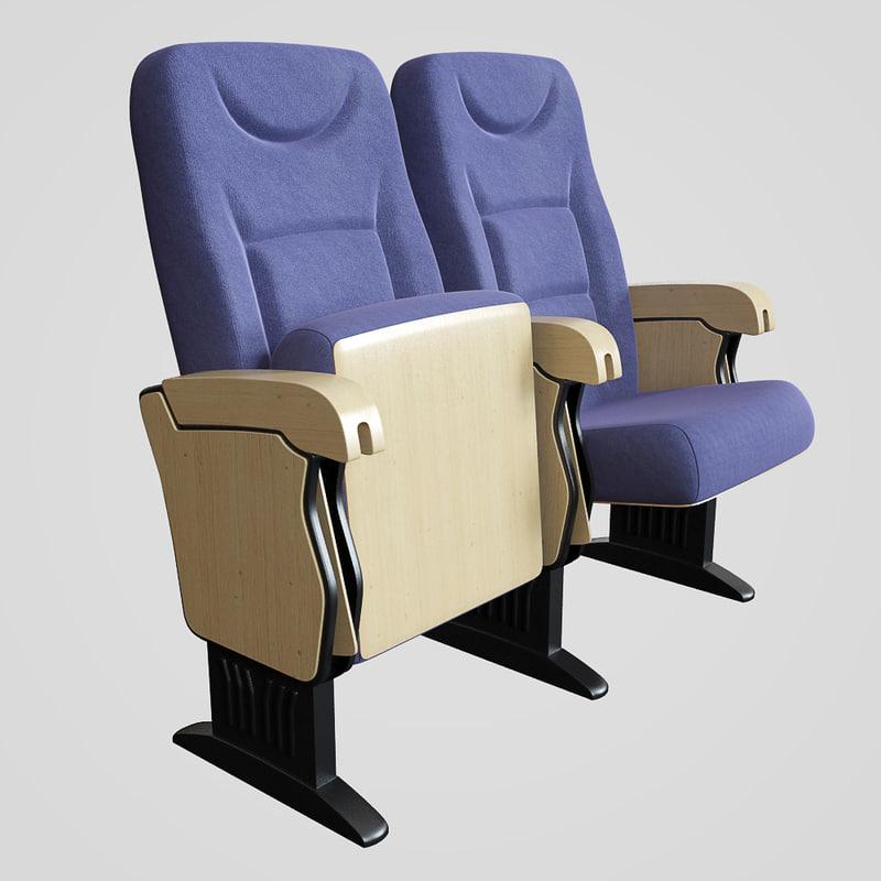 3d armchair theater