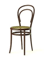 thonet n 14 chair 3ds