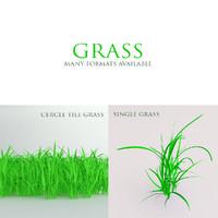 grass 3ds