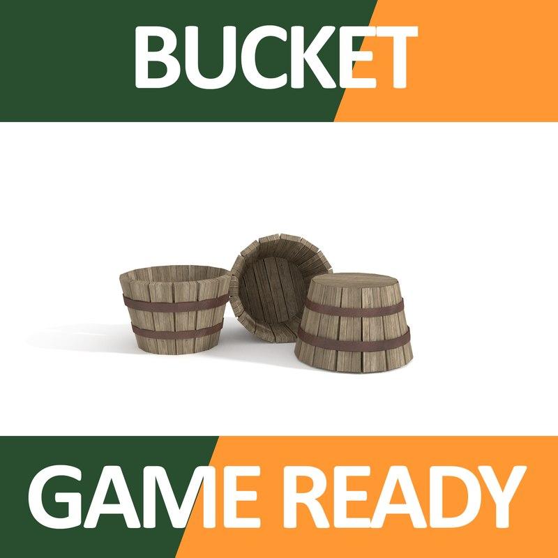 bucket fbx
