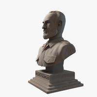 Fidel Castro Sculpture