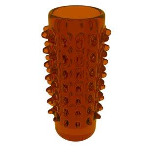 free 3ds model modern vase spikes
