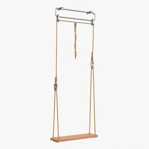 swing 3d max