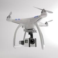 DJI Drone + Go Pro Camera