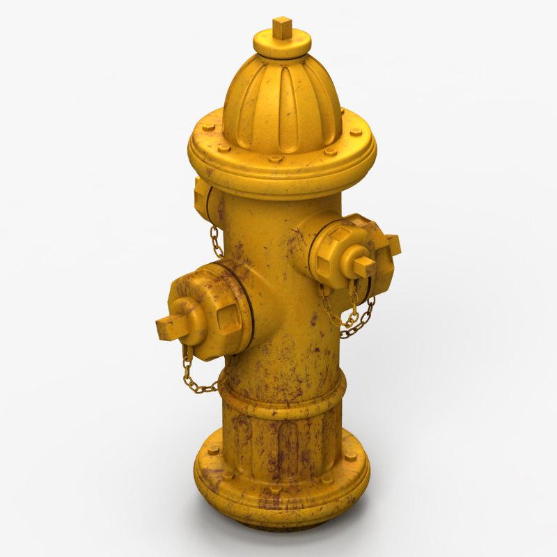 extinguisher 3d model