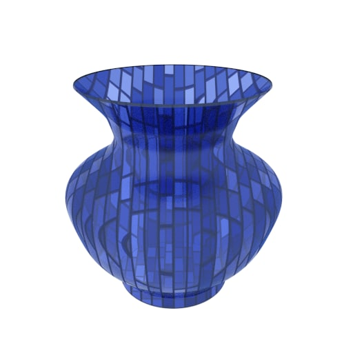 simple glass vase 3ds free