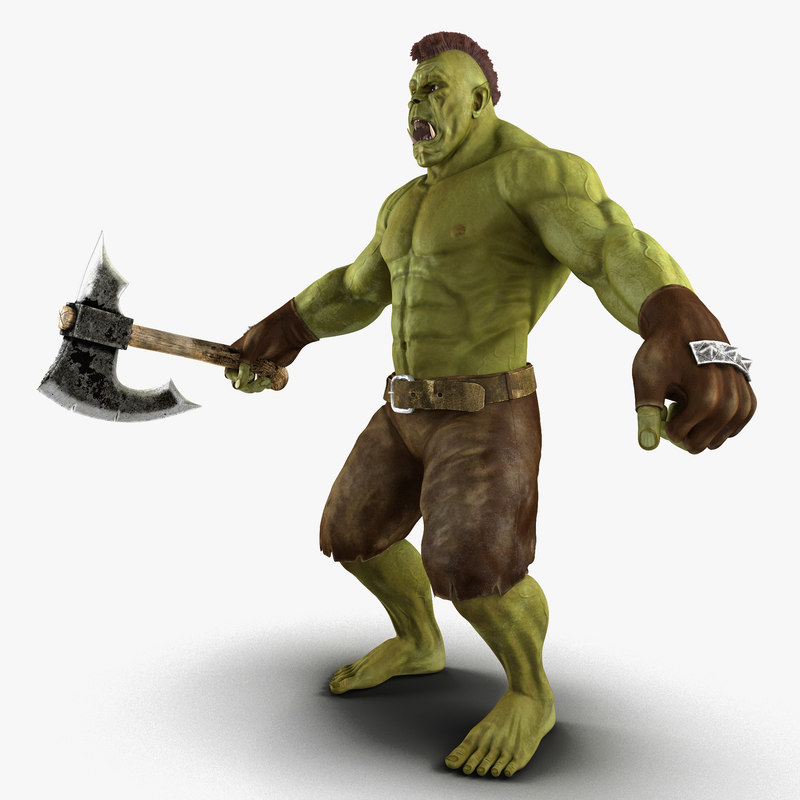 max orc rigged