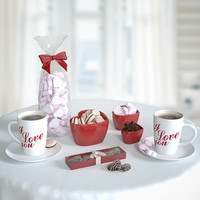maya valentine breakfast set