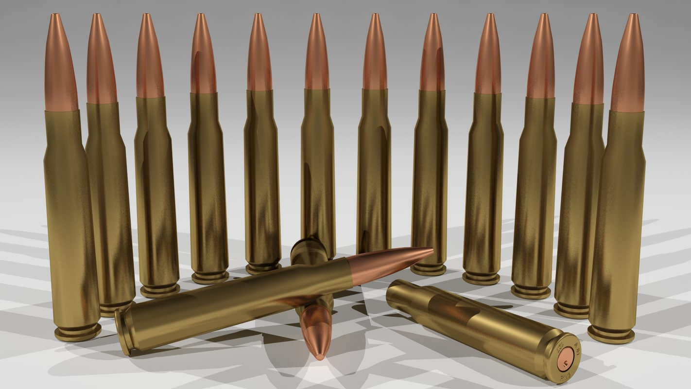 3d r1m3 bullets model